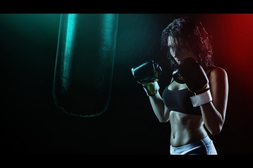 Boxing can be an interesting hobby. Women are taking a great interest in this sport.