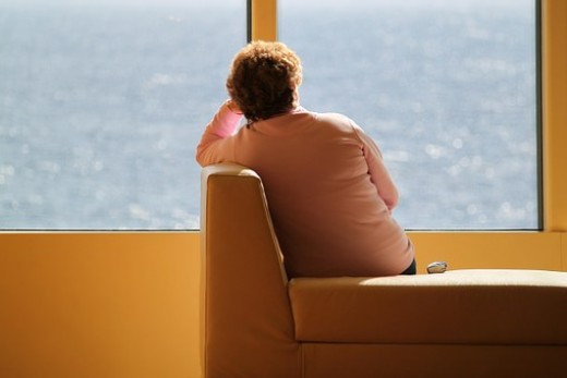 Depression often leads to change of behavior and socialization level.