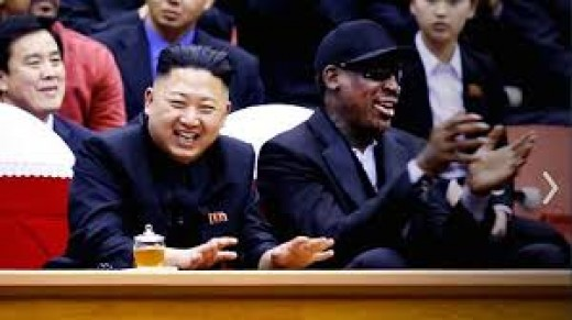 Former NBA star Dennis Rodman is a close, personal friend of the Supreme Leader.