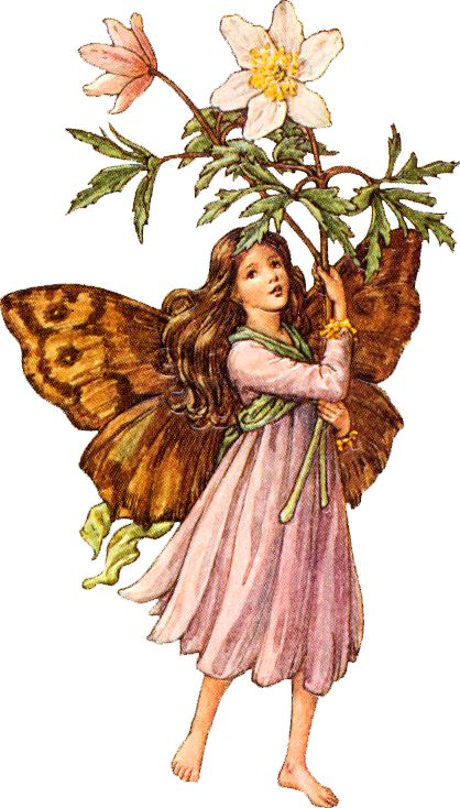 Fairies make beautiful clip art to use for decoupage projects
