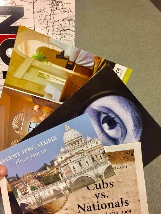 Postcard have various sizes