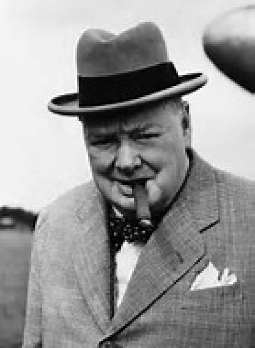 """""""Those not willing to learn from History are doomed to repeat it.""""  -Sir Winston Churchill"""