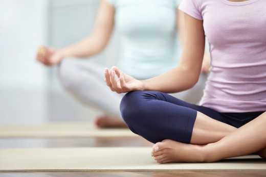 Yoga is a Good Way to Release Stress