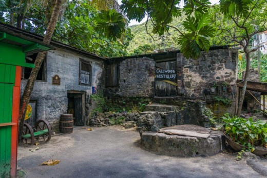 Definitely rustic, thankfully not our hotel (phew!) (Cade Garden Bay Beach. Tortola)