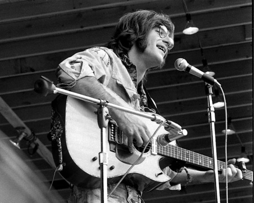 Sebastian performing in  East Lansing Michigan in 1970.
