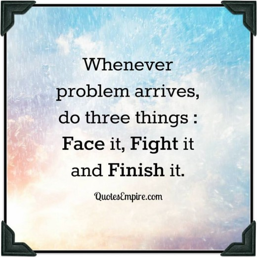 There are three things to do when fighting for the finish so do them every time.