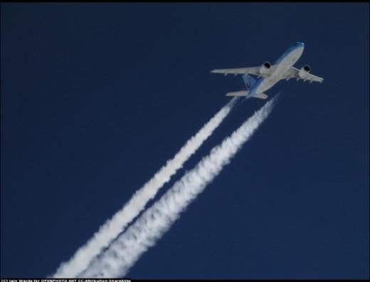High Tech, Modern Plane