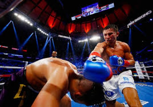 Gennady Golovkin defends the 160 pound championship with a knockout of to contender, David Lemieux.