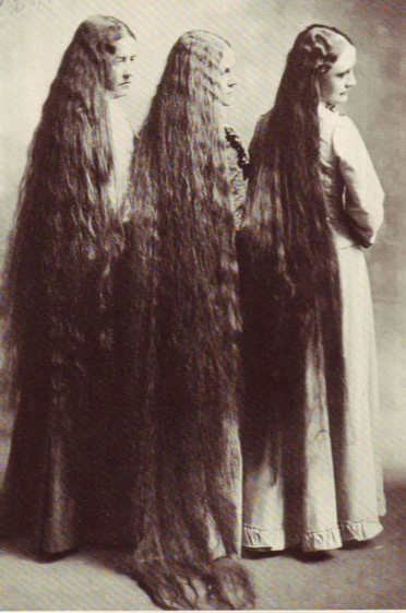 Many in the Fundamentalist churches demanded women not cut their hair.