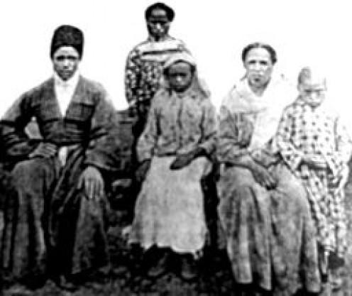 An Afro-Abkhazian family