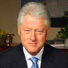 Clinton stepped down from office before being impeached.