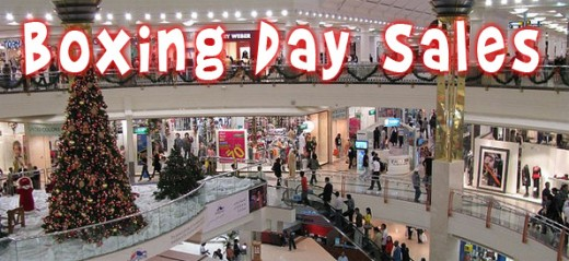 Boxing Day Shopping
