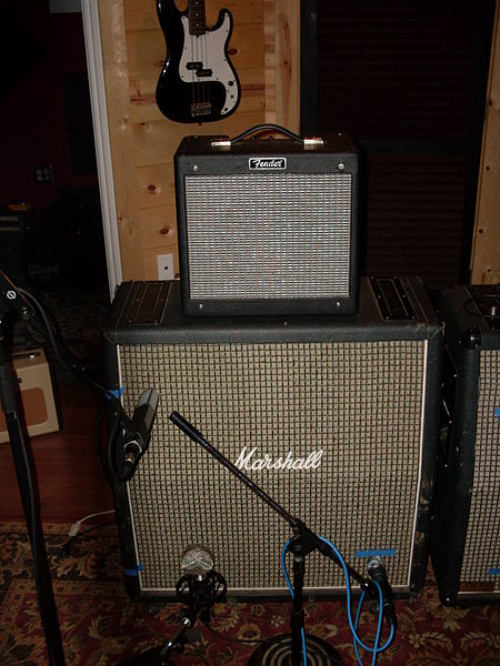 Roadside Guitars and  Marshall amps used by  disbanded Blue Cheer and other faded rock bands.