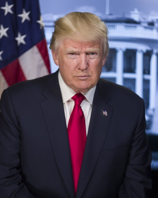 The 45th American President Donald Trump