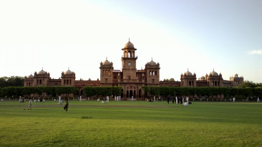 Islamia College Peshawar. PTI's government is establishing a University City.