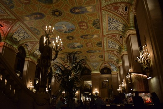 The Palmer House's dining area.