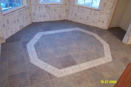 More ideas for flooring tile designs