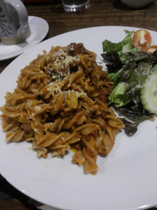 Herbed Pasta