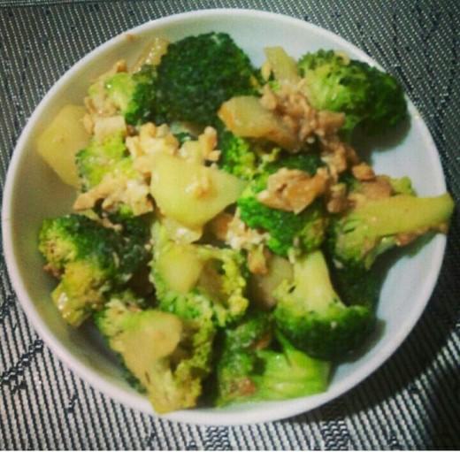 Stir Fry Broccoli