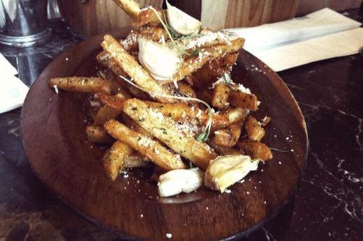 Duck Fat Fries pimenton dulce + rosemary + garlic confit + parmesan