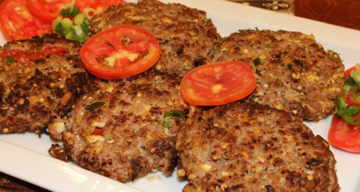 The famous Chapli Kababs.