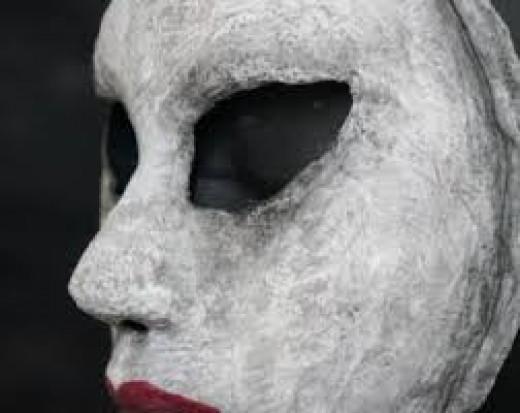 At first Brian enjoyed sewing and constructing masked made of man made materials.