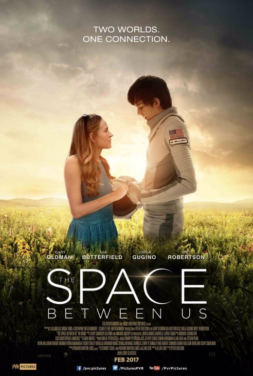 The Space Between Us theatrical poster
