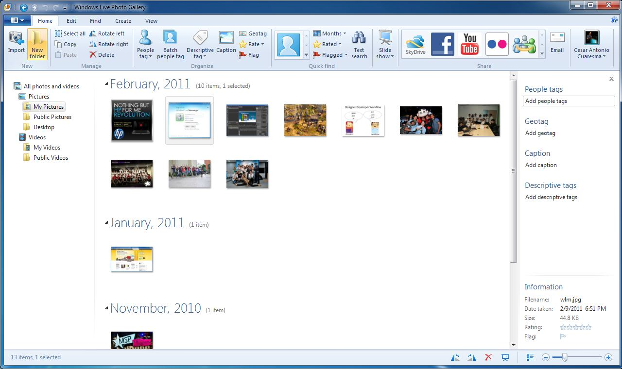 Editing Photos With Ease On A Pc Via Photo Gallery Hubpages