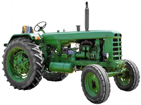 A first look at the modern tractor.