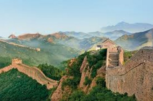 The Great Wall of China is over 13,000 miles long and it was designated a World Heritage Site in 1987.
