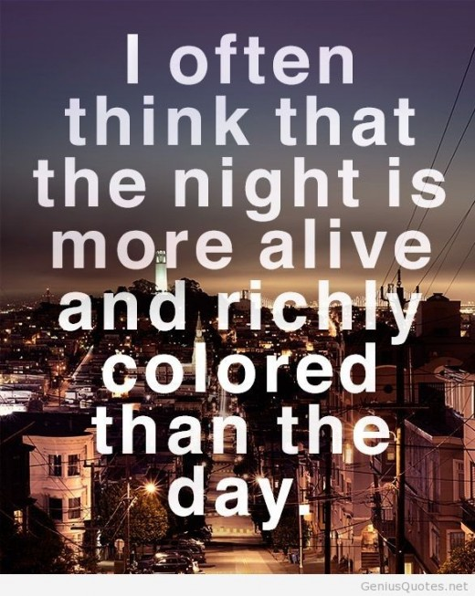 A quote about Night and Day