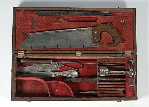 Sawbones tools