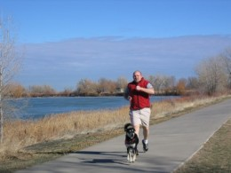 Exercise with your dog! You will both benefit from daily work-out sessions!