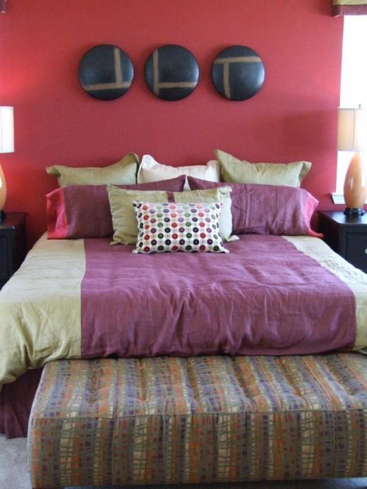 High energy bedroom