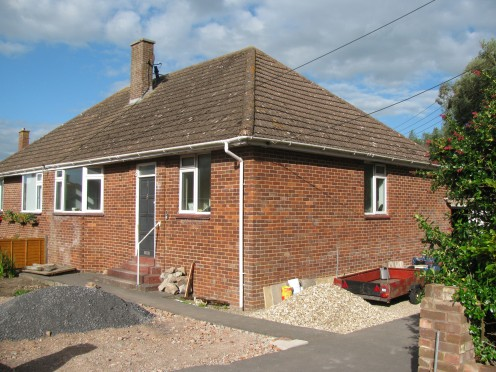 I now live here; work in progress! (Burnham-On-Sea, Somerset)
