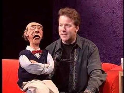 Ventriloquist, Jeff Dunham  and Walter.