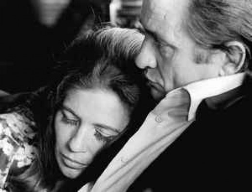 Johnny Cash and June Carter forever.