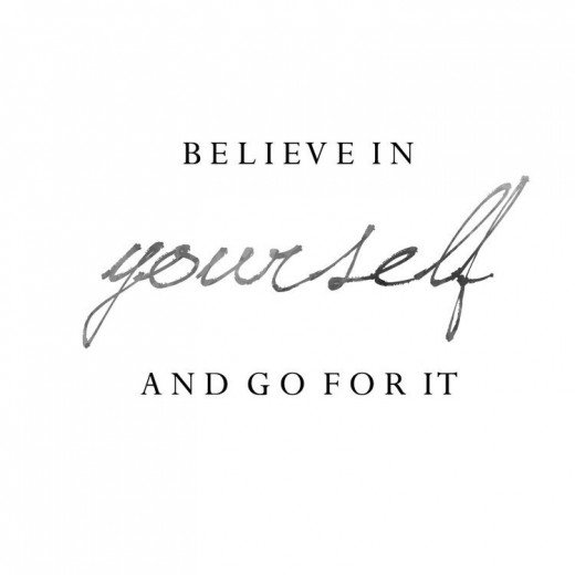 If you want to blog believe in yourself and go for it.