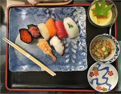 Stop and have a seat before eating or you will look uneducated in Japan.