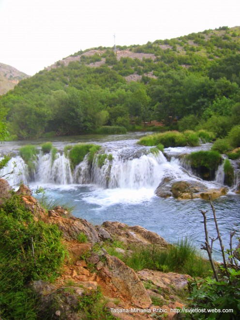 Waterfalls of river Zrmanja, Croatia, Dalmatia, photo by Tatjana-Mihaela