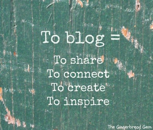 Blogging what you can do for people