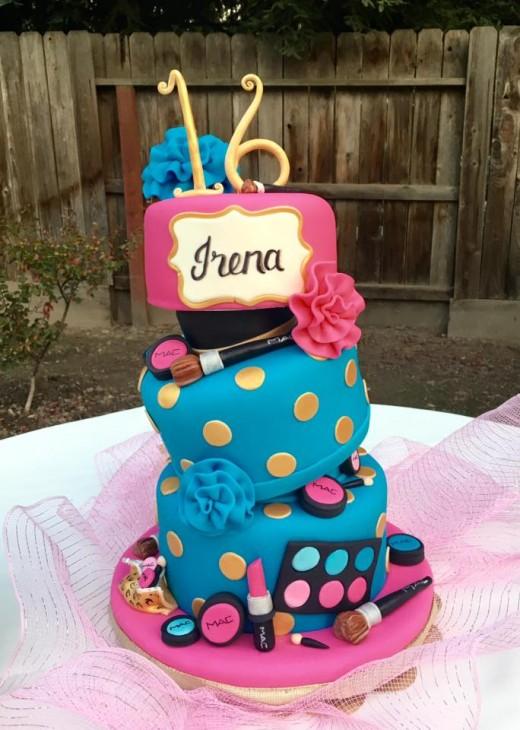 Amazing Sweet 16 Cake