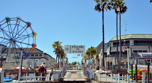 Balboa Fun Zone in Newport Beach