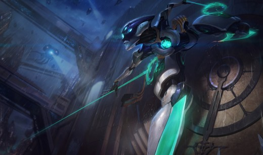 Splash art for the Program Camille skin