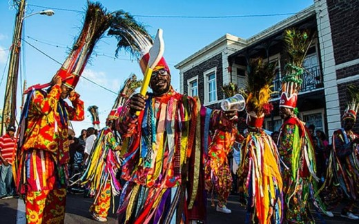 Performers in the National Carnival