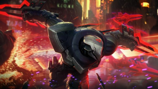 PROJECT: Zed splash art