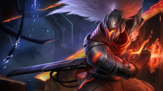 PROJECT: Yasuo splash art
