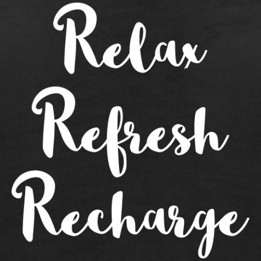 This is a perfect thing to do when relaxing