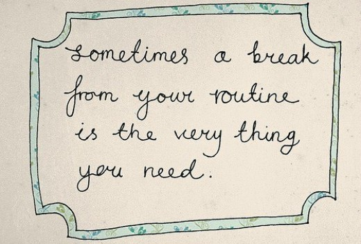 Breaks are necessary