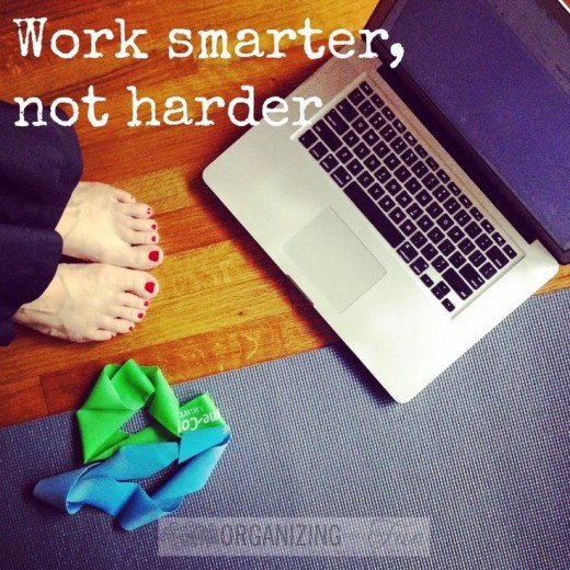 Work Smarter Not Harder when you work from home